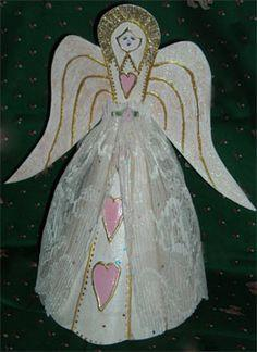 tree angel pattern and tutorial