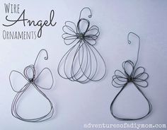 Wire Angel Ornament