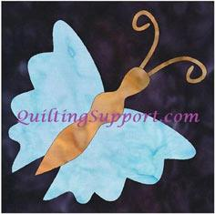 FREE Butterfly 3 Applique