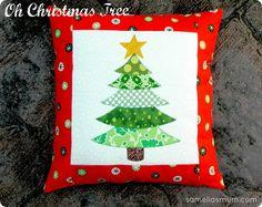 Oh Christmas Tree pillow