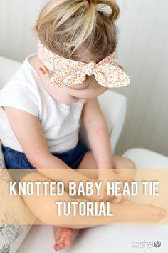 Knotted Baby Head Tie