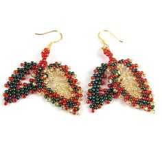 Earrings Autumn Leaves