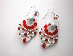 Pretty Beaded Earrings Charm