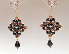 Beautiful Beaded Earrings Mia