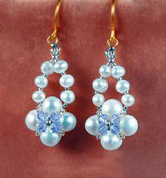 Beautiful Beaded Earrings Ella