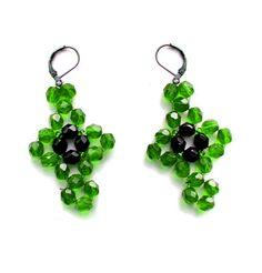 Beautiful Beaded Earrings Fiona