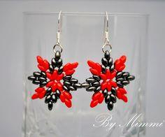 Earrings Carmen With Super Duo