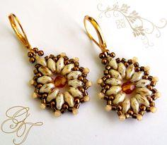 Beaded Earrings Tea Party