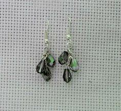 Easy Beaded Dangling Earrings