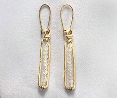 Anthro-Inspired Matchstick Earrings