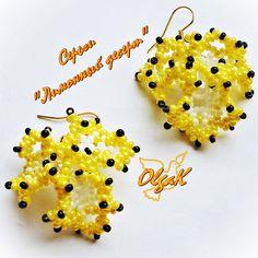 Pattern For Earrings And Pendant