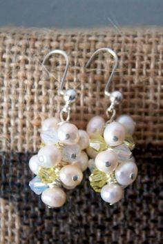 DIY Bridal Earrings