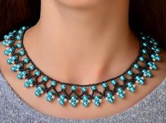 Free Pattern For Beaded Necklace Protaras