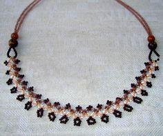 Free Pattern For Beaded Necklace Ava
