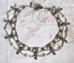 Free Pattern For Beaded Necklace Margo