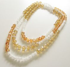 Endless Loop Beaded Necklace