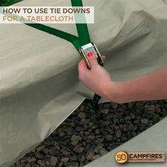 How To Easily Secure A Tablecloth