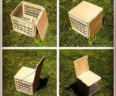 Milk Crate Chair