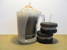 Oreo (and coffee) candle