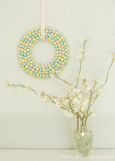 Spring Candy Wreath