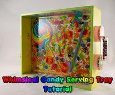 Whimsical Candy Serving Tray