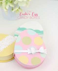 DIY Easter Egg Candy Boxes