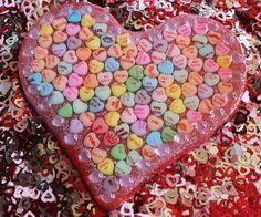 Huge Resin Candy Heart