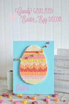 Candy Garland & Easter Egg Deco