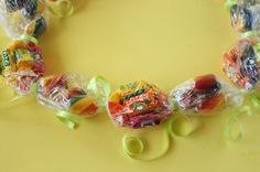 How to Make Candy Leis