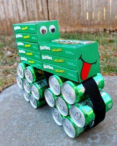 Coke and Candy Tractor