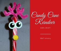 Candy Cane Reindeeer