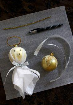 mints& honey: DIY Christmas Angel