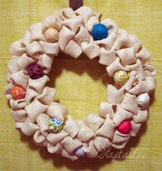 CRAPTASTIC: Christmas Wreath!