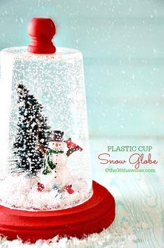 Snow Globe - Christmas Gift Idea