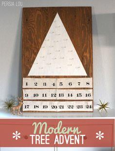 Modern Tree Advent Calendar