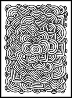 100 Coloring Pages For Adults