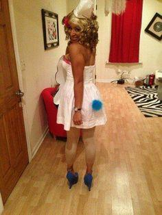 Katy Perry Smurfette Costume Halloween 2013