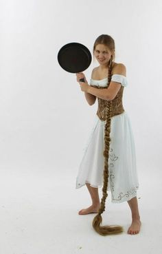Surprisingly Easy Rapunzel Costume