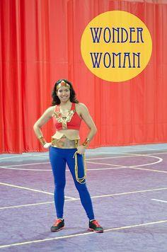 My DIY Wonder Woman Costume