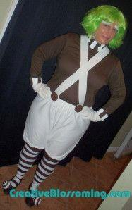 Oompa Loompa costume tutorial