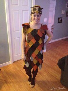 Patchwork Owl Costume