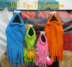DIY Yip Yip Costume Tutorial