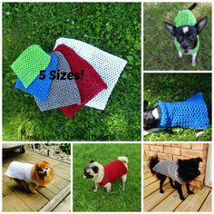 Crochet Any Occasion Dog Sweater