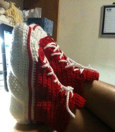 Converse Slippers Pattern