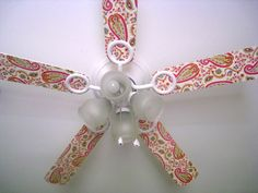 ceiling fan can be decoupaged