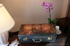 Tutorial Vintage suitcase
