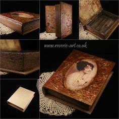 Vintage book - trinket box.