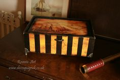 pirate treasure box