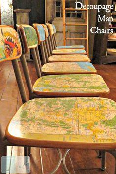 Decoupage Furniture Tutorial