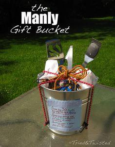 Manly Gift Bucket